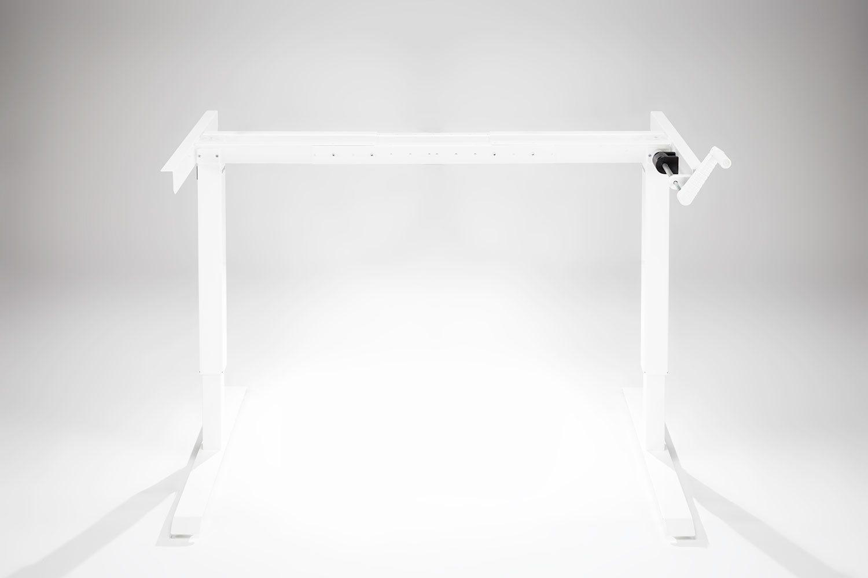 Multitable Manual Standing Desk Base Whitemultitablecom