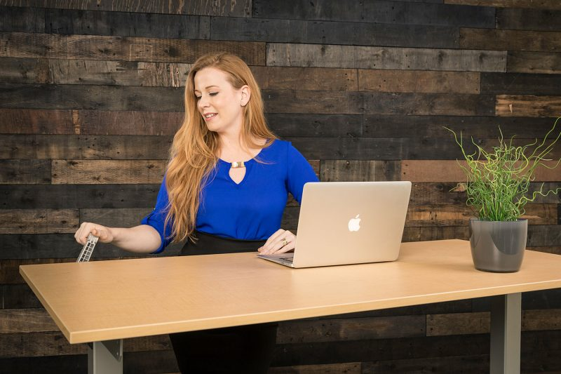 Manual Hand Crank Standing Desk MultiTable