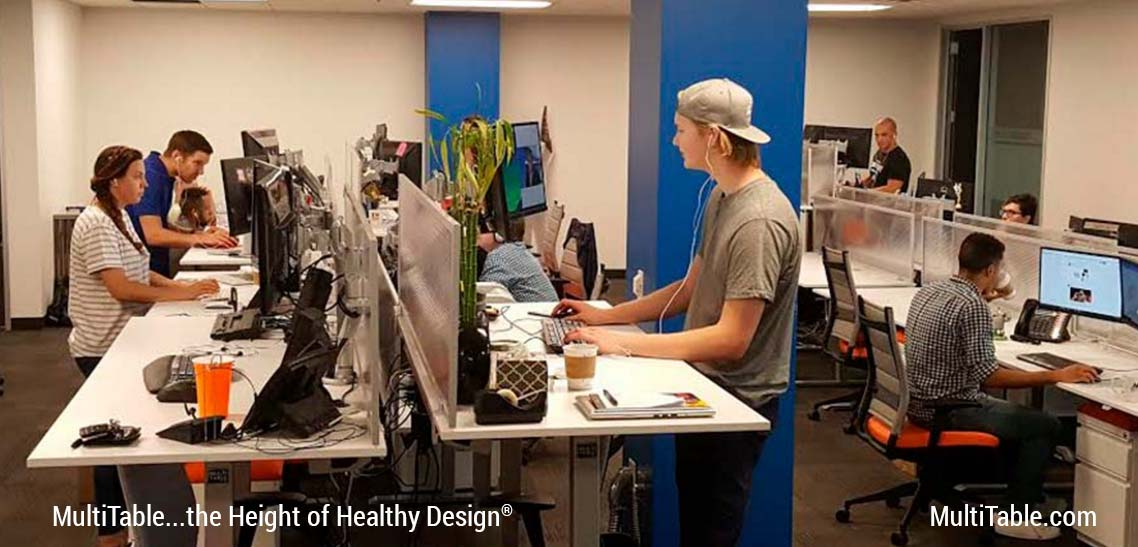 Standing Desk MultiTable Height Adjustable Desk Experts Article 4