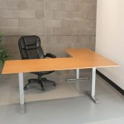 Electric L Shaped Standing Desk Multitable 3