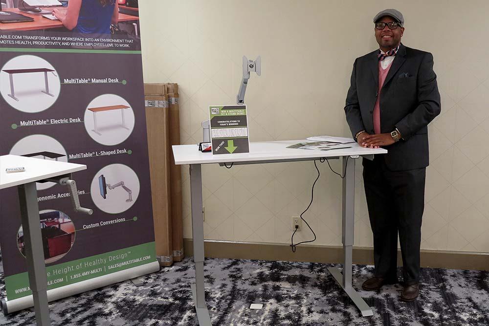 Standing Desk Adjustable Height Desk MultiTable Gallery 35