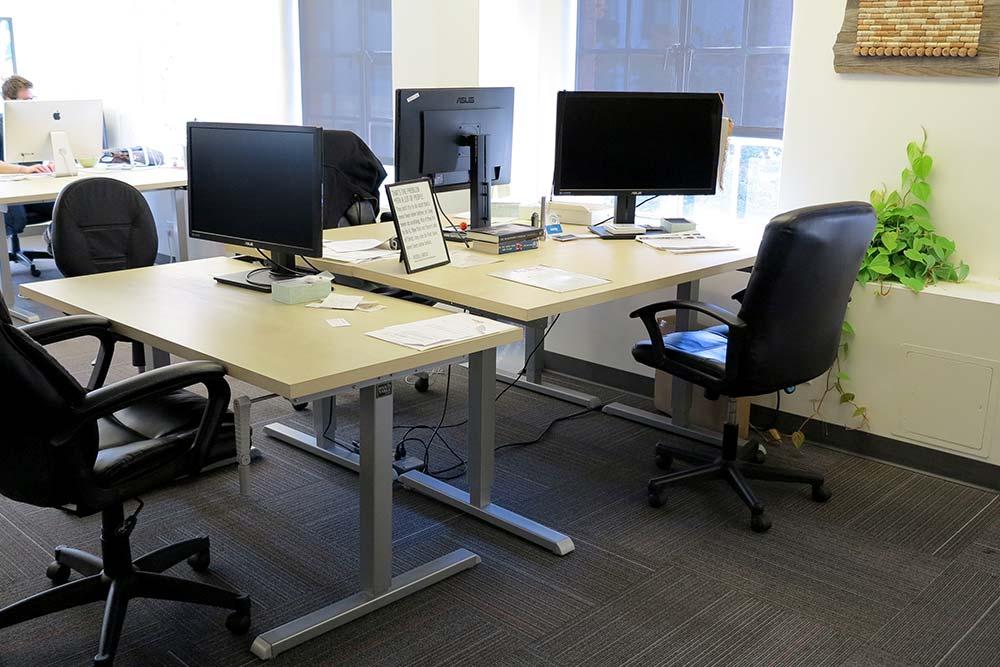 Standing Desk Adjustable Height Desk MultiTable Gallery 37