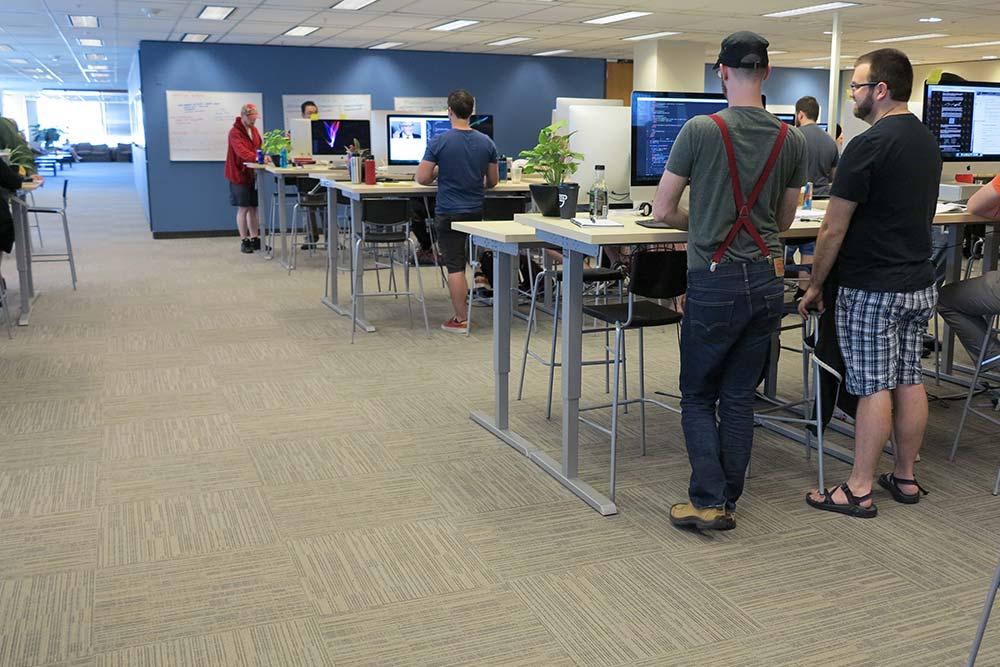 Standing Desk Adjustable Height Desk MultiTable Gallery 46