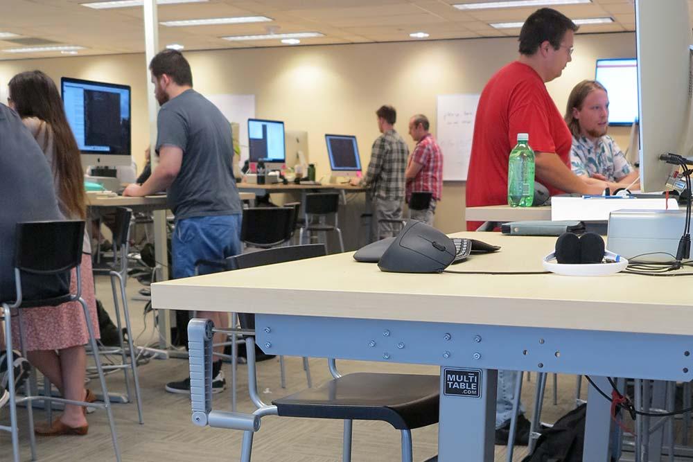 Standing Desk Adjustable Height Desk MultiTable Gallery 47