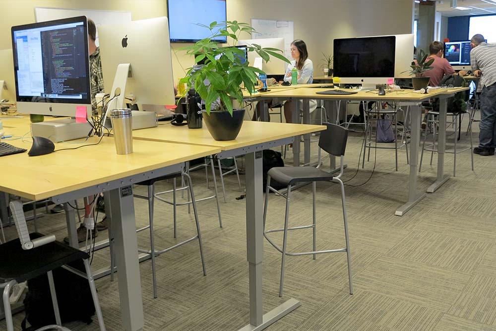 Standing Desk Adjustable Height Desk MultiTable Gallery 50
