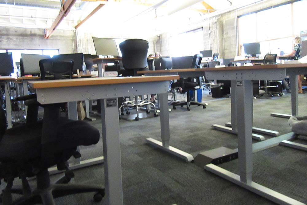 Standing Desk Adjustable Height Desk MultiTable Gallery 60