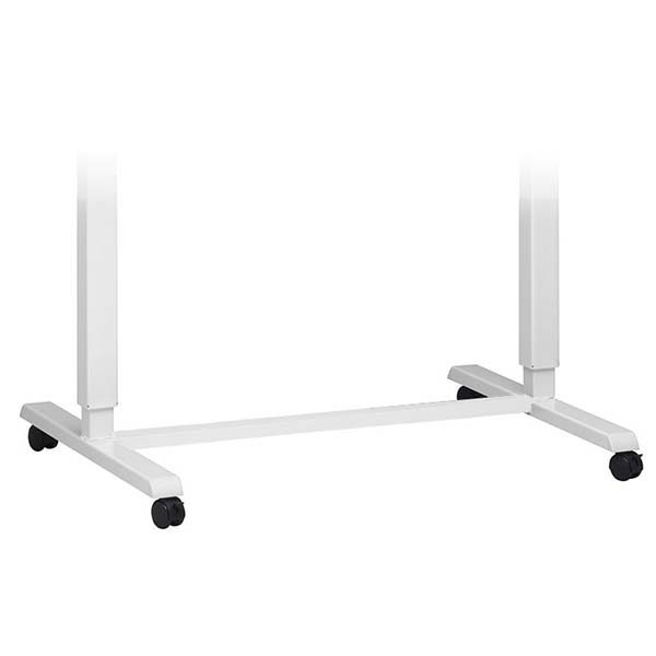 Standing Desk Wheel Kit White