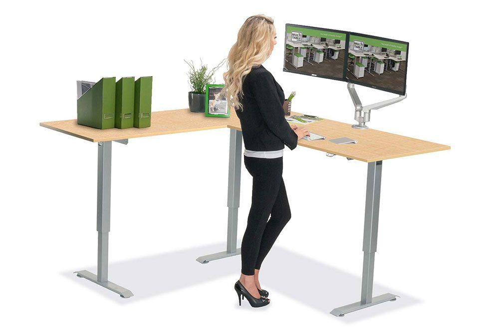 Height Adjustable Standing Desk Tops Wholesale Retail Phoenix Az MultiTable