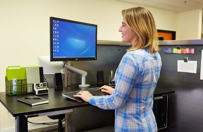 MultiTable Standing Desks For Healthiest Employers