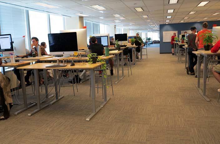 Standing Desk Benefits Healthiest Employers