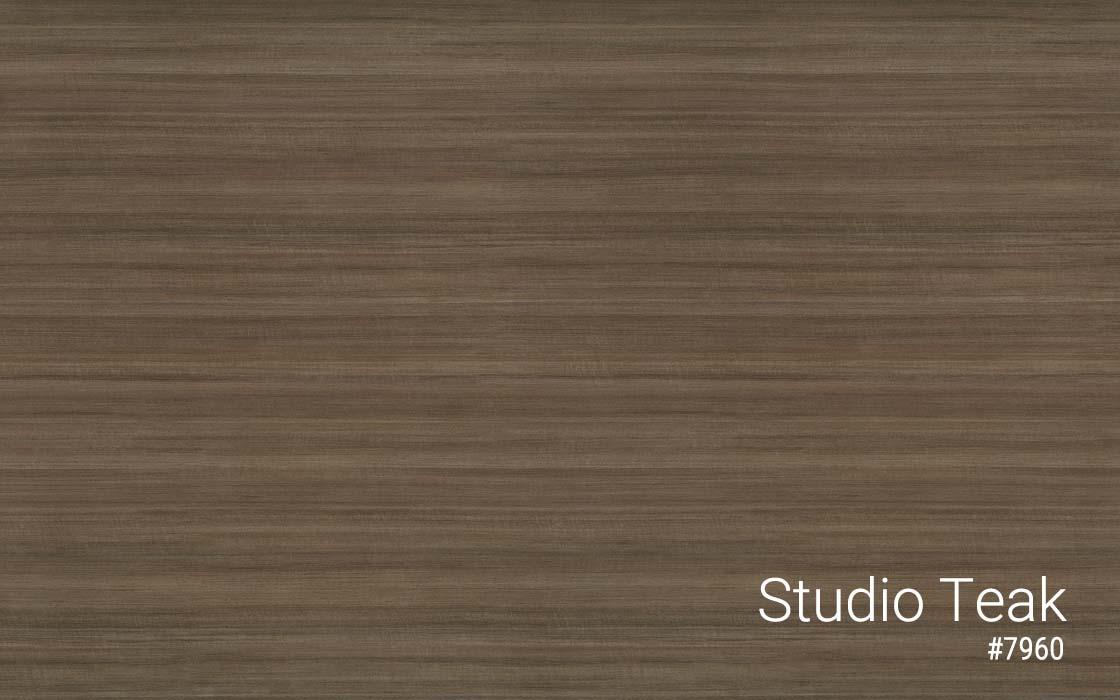 Standing Desk Laminate Top Color Studio Teak MultiTable