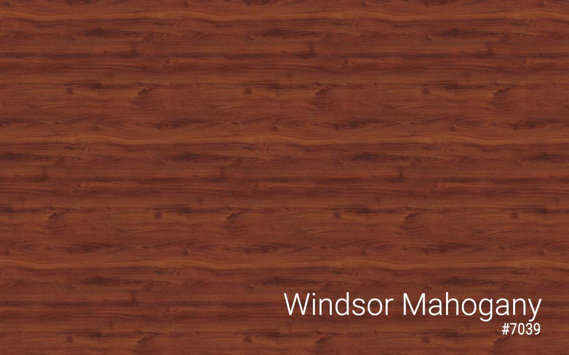 Standing Desk Laminate Top Color Windsor Mahogany MultiTable