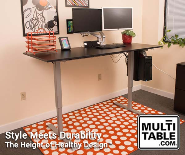 Standing Desks 30 Day Money Back Guarantee Multitable.com