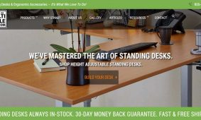 Standing Desk Experts Multitable Launch New Website