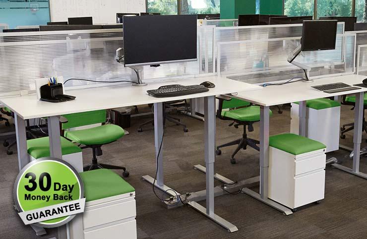 Standing Desk Laminate Tops MultiTable Standing Desk Experts 1
