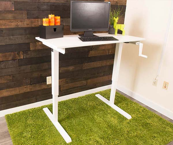 Manual Standing Desks Fast Free Shipping MultiTable