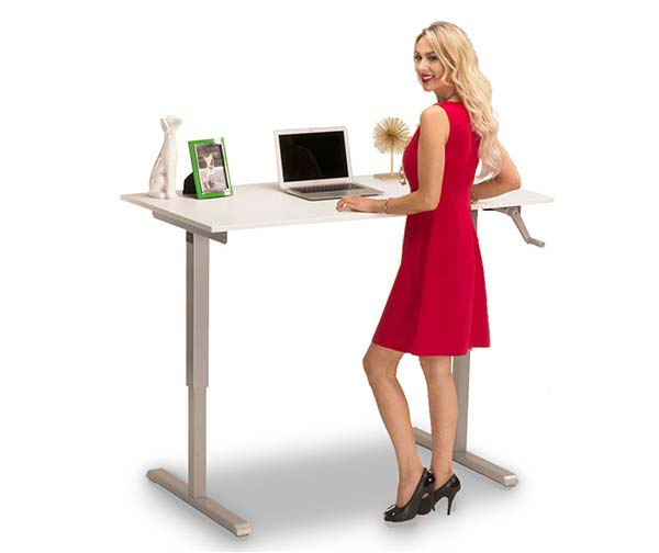 Standing Desk Hand Crank Multitable