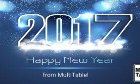 Happy Standing Desk New Year Multitable