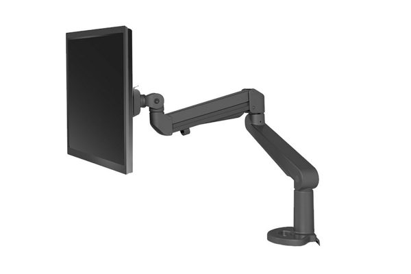 Monitor Arm Black Single MultiTable