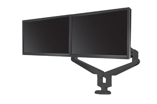 Monitor Arm Dual Black MultiTable
