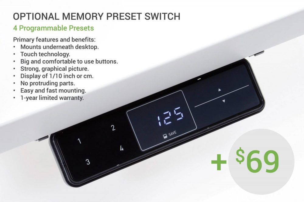Optional Memory Preset Switch MultiTable