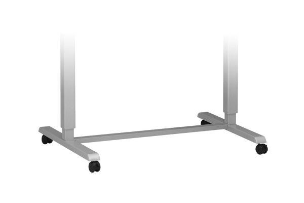 Standing Desk Wheel Kit Silver MultiTable