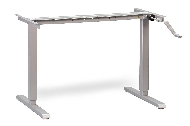 Hand Crank Adjustable Standing Desk Frame MultiTable