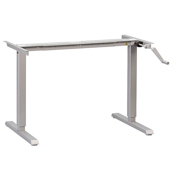 Hand Crank Height Adjustable Standing Desk Frame MultiTable