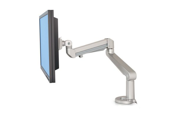 Monitor Arm Single Silver MultiTable