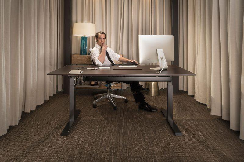 The ModDesk Pro Adjustable Height Standing Desk
