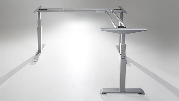 ModDesk Pro L Shaped Corner Standing Desk Frame Specs