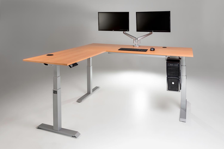 ModDesk ProL Corner Standing Desk MultiTablecom