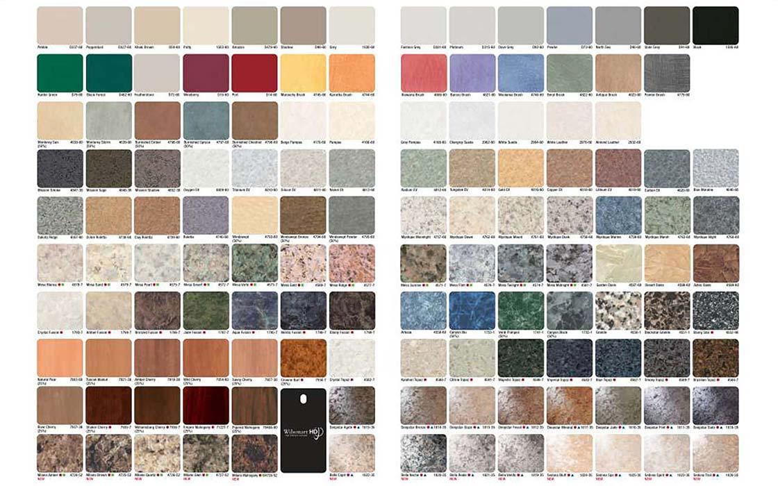 Standing Desk Custom Order Wilsonart Colors 6 MultiTable