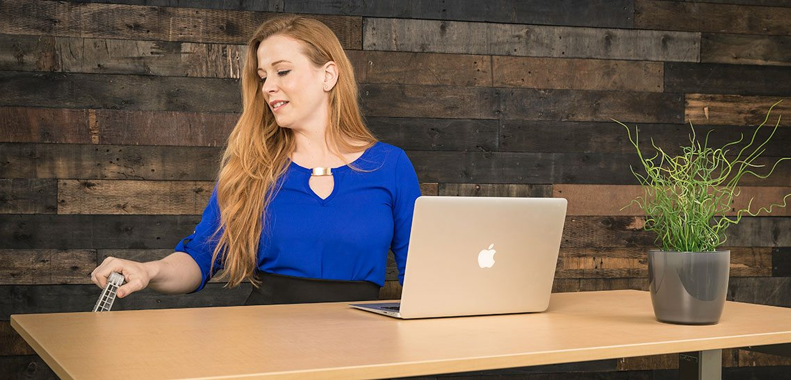 Standing Desks And Women Who Use Them