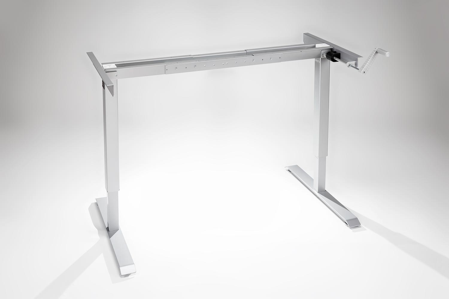 Manual Hand Crank Standing Desk Base