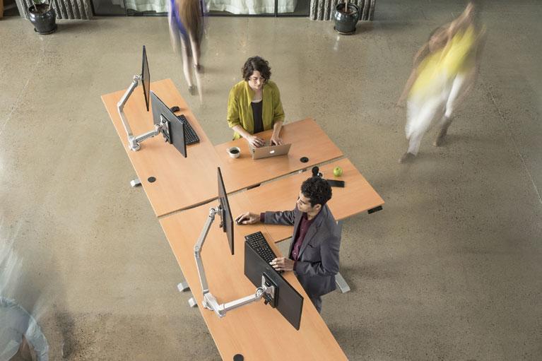 Height Adjustable Office Furniture Sit To Stand Height Adjustable Tables And Standing Desks By MultyiTable Phoenix Az