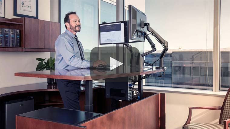Standing Desk Conversion Services Nationwide MultiTable Video Images