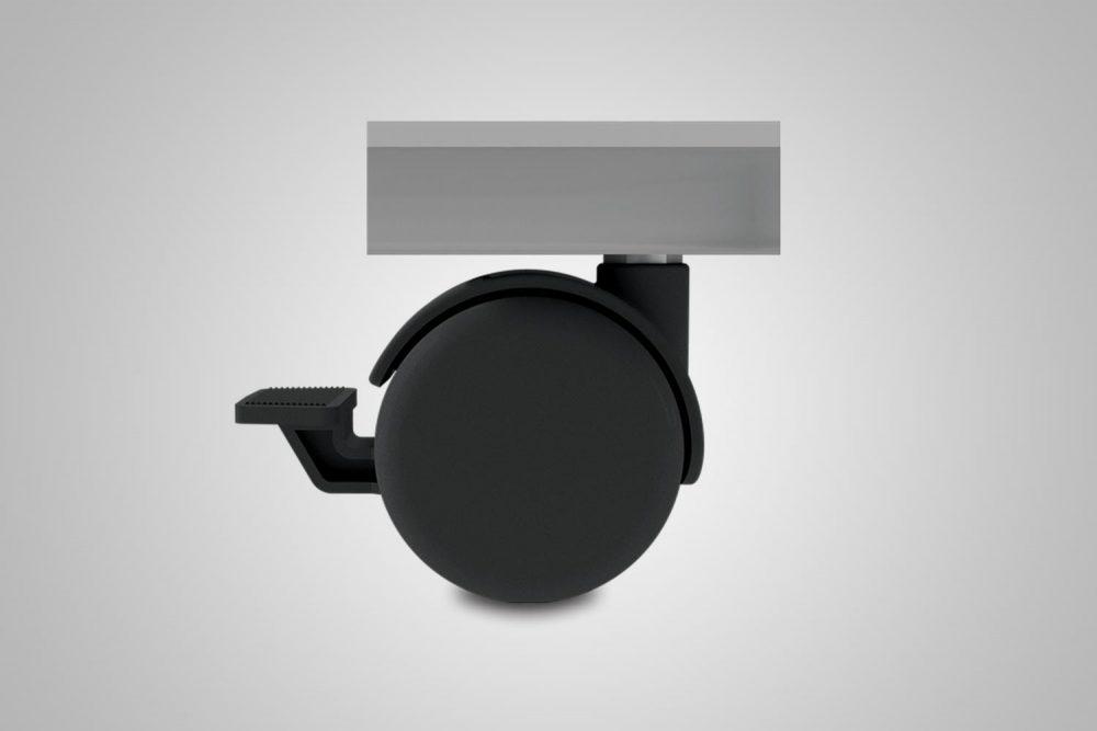 Standing Desk Locking Caster Wheel Kit MultiTable