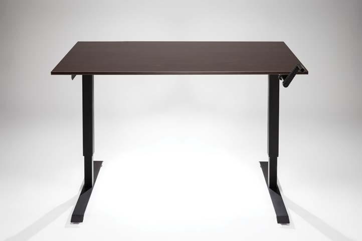 Adjustable Height Hand Crank Standing Desk