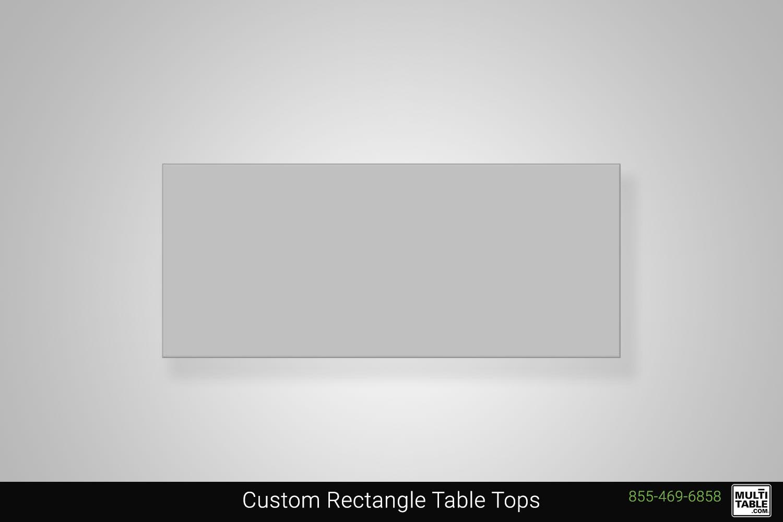 Custom Rectangle Standing Desk Table Top Shape Options MultiTable Office Furniture Manufacturing Phoenix Arizona Since 2010