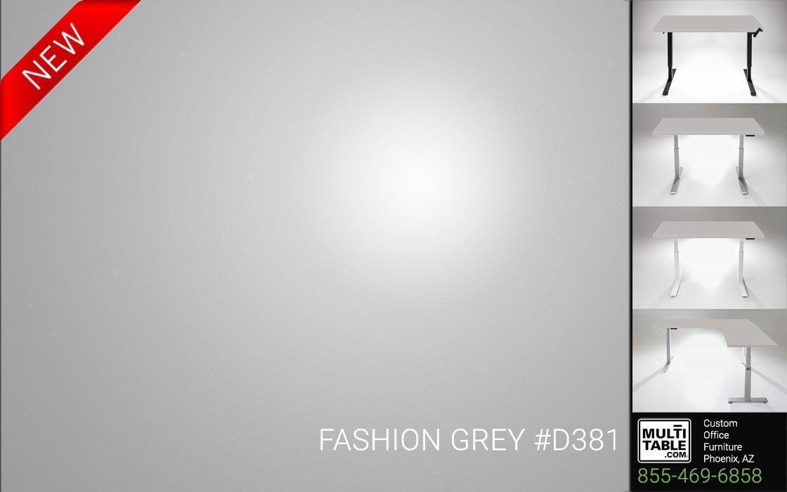 Custom Standing Desk Table Top Options MultiTable Office Furniture Manufacturer Supplier Phoenix Arizona Wilsonart Fashion Grey D381 1