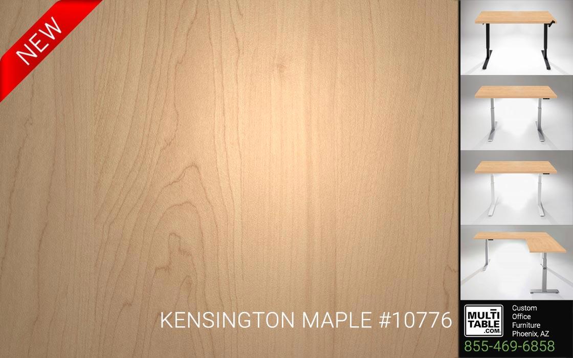 Custom Standing Desk Table Top Options MultiTable Office Furniture Manufacturer Supplier Phoenix Arizona Wilsonart Kensington Maple 10776 1
