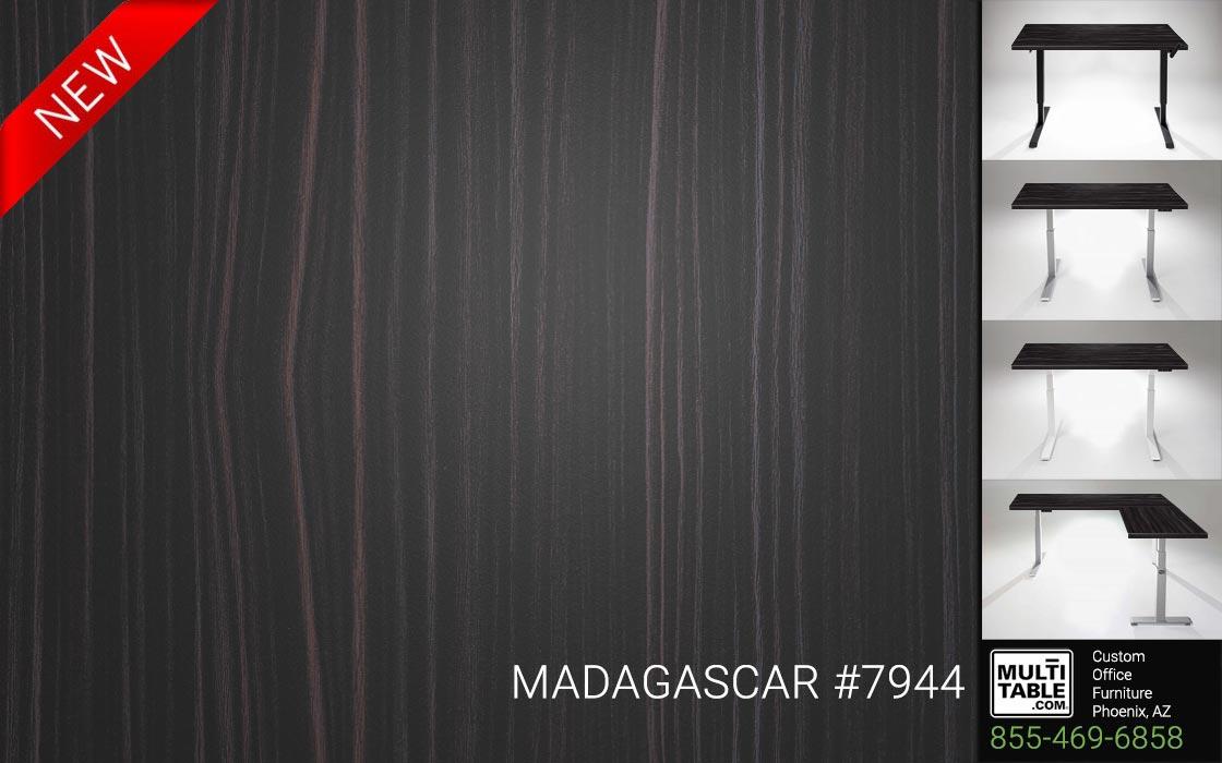 Custom Standing Desk Table Top Options MultiTable Office Furniture Manufacturer Supplier Phoenix Arizona Wilsonart Madagascar 7944 1