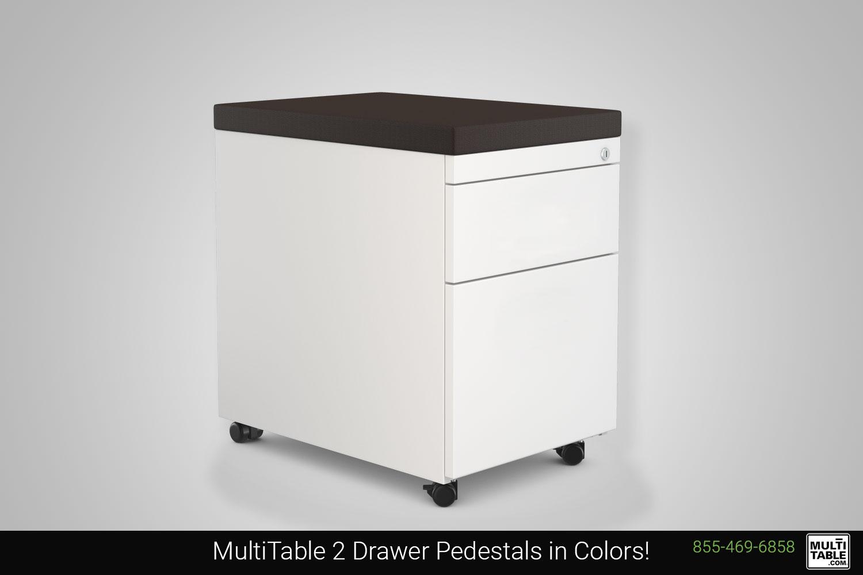Custom Office Pedestals MultiTable Office Furniture Manufacturing Phoenix Arizona Since 2010