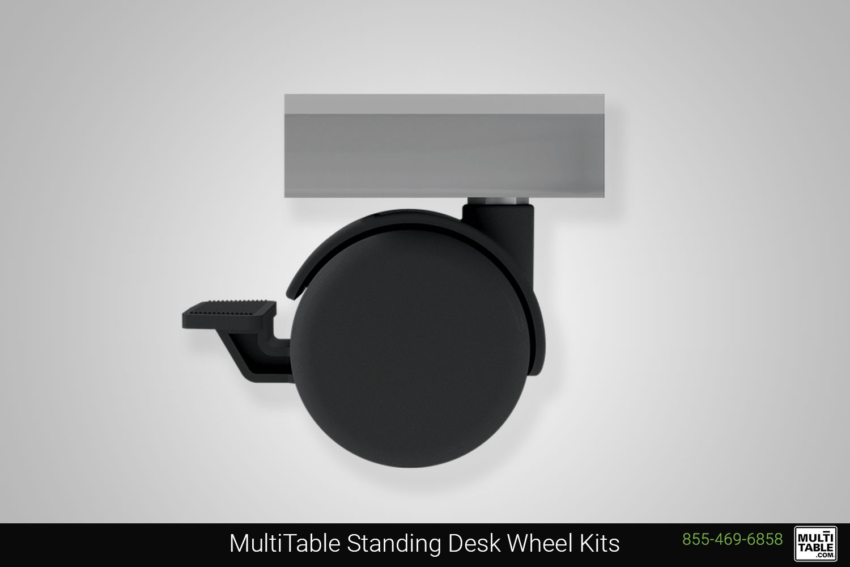 Custom Standing Desk Wheel Kits MultiTable Office Furniture Maker Supplier Phoenix Arizona Since 2010