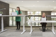 The Mod E Pro Adjustable Height Standing Desk 5