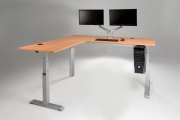 Mod E Pro L Shaped Corner Standing Ergonomic Desk MultiTable Phoenix Arizona