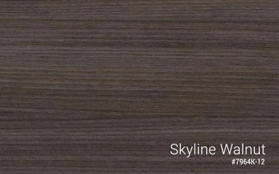 Standing Desk Custom Laminate Tops Skyline Walnut MultiTable